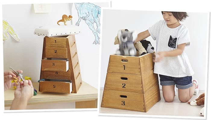 【8月2日帆布の日 限定企画】とび箱型の収納箱を限定販売します
